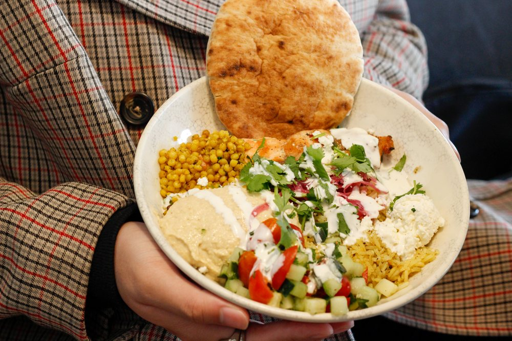 Food from Roti Modern Mediterranean