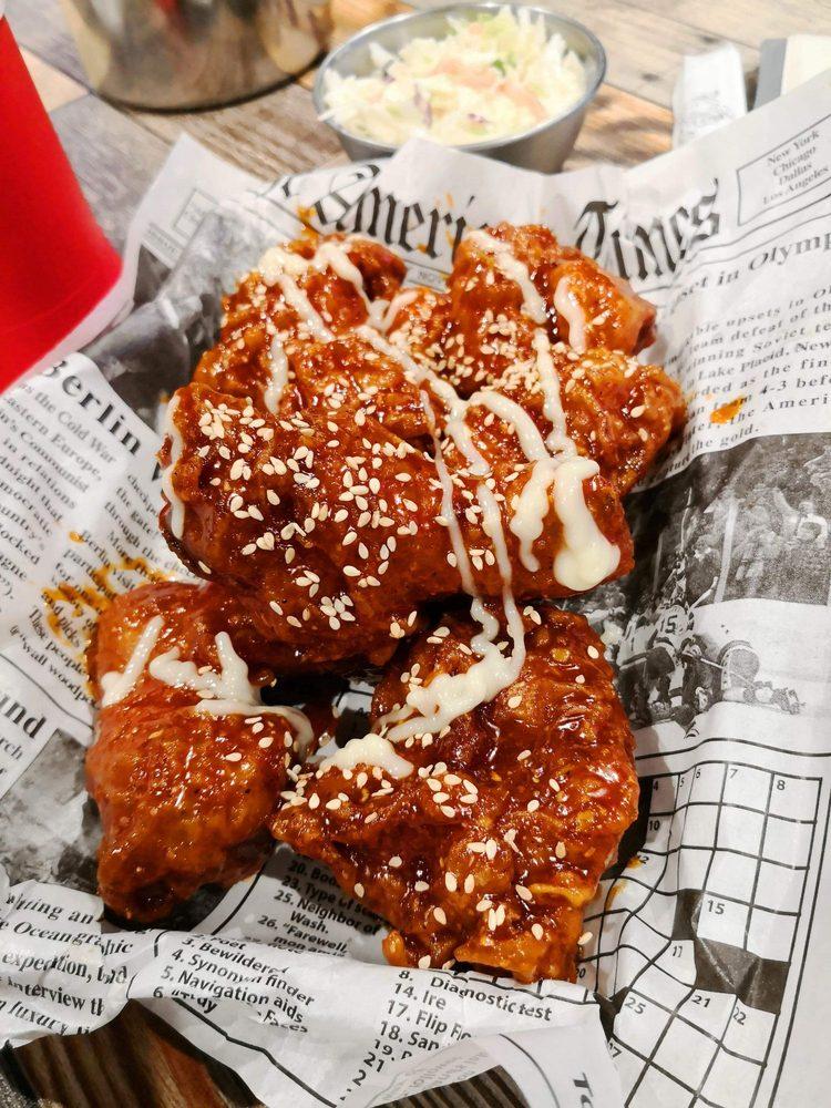 Food from Chicken Bee Korean Style Chicken