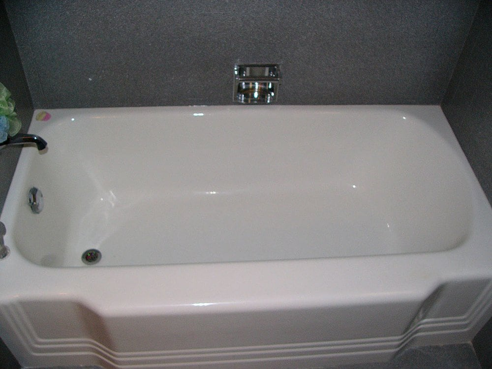 A Standard High Gloss White Tub Refinish Yelp