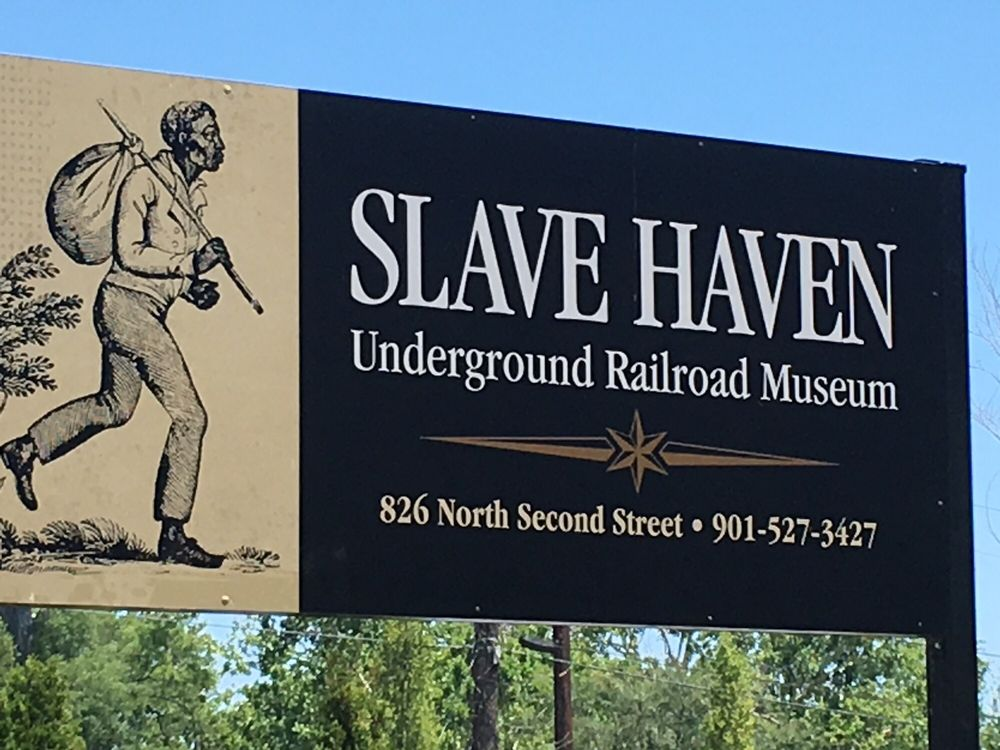 Slave Haven Underground Railroad