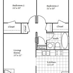 Photo Of Mariposa Oaks Apartments Citrus Heights Ca United States Floor Plan