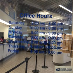 Us Post Office Late Hours