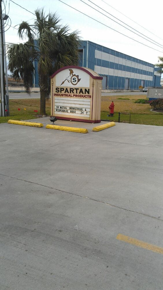 Spartan Industrial Products: 844 Engineers Rd, Belle Chasse, LA