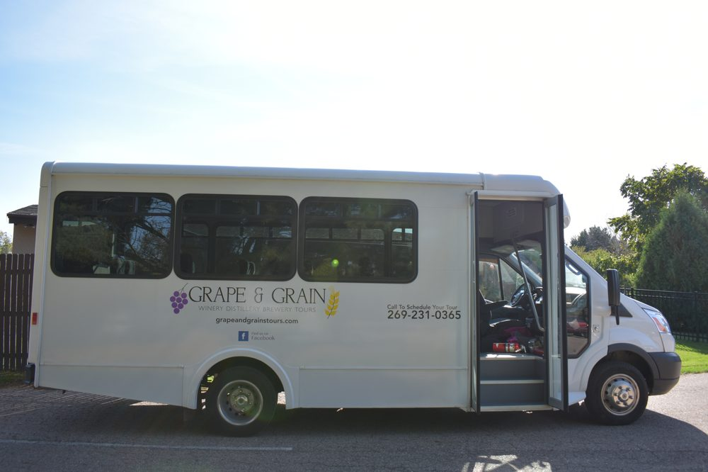 Grape and Grain Tours: Bridgman, MI