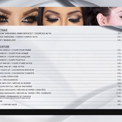 Photo Of Style Actuel Coiffure   Brossard, QC, Canada. Price List