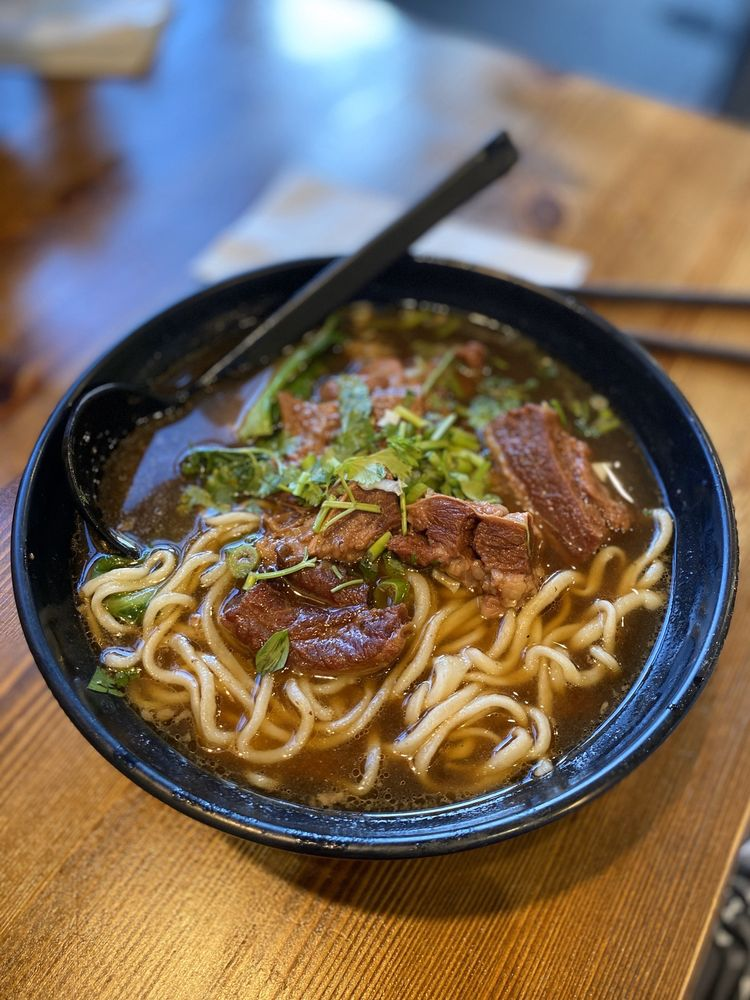 Food from The Magic Noodle