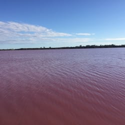 Photo Of Pink Lake Dimboola Victoria Australia