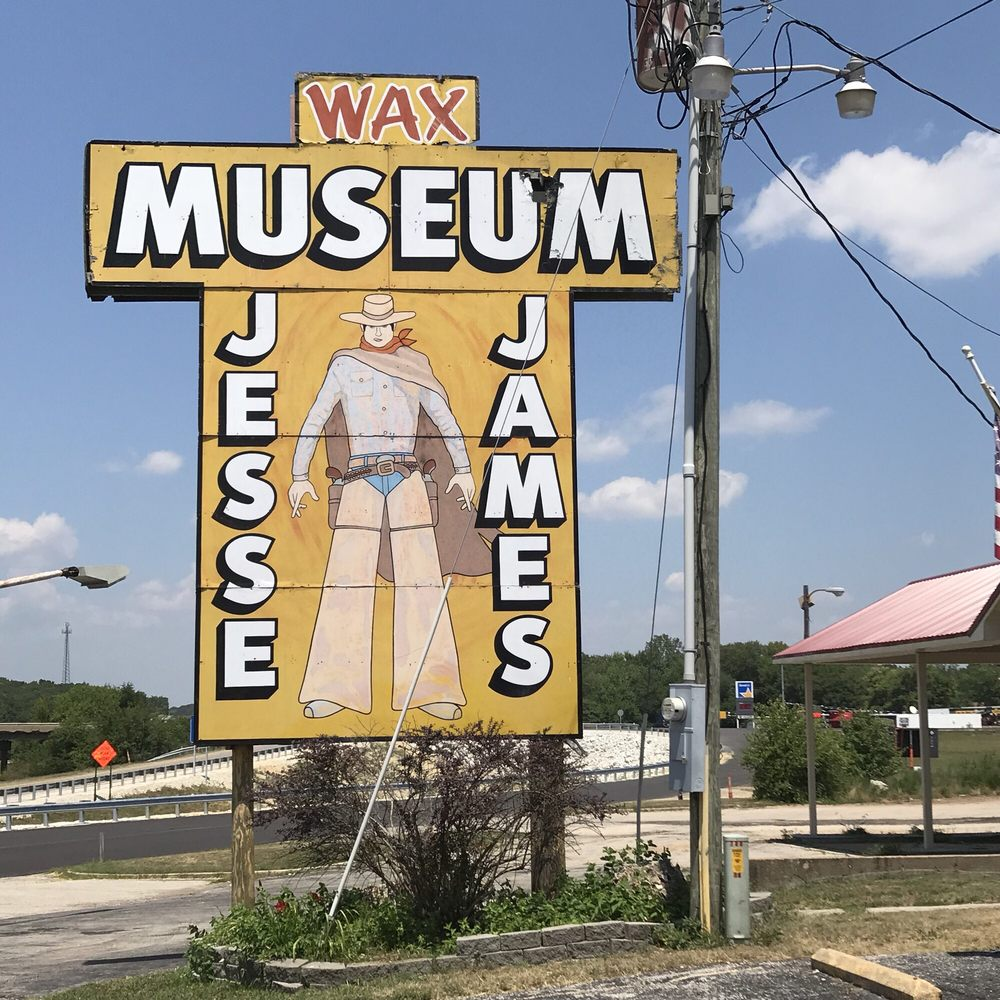 Jesse James Wax Museum: I-44 Exit 230, Stanton, MO
