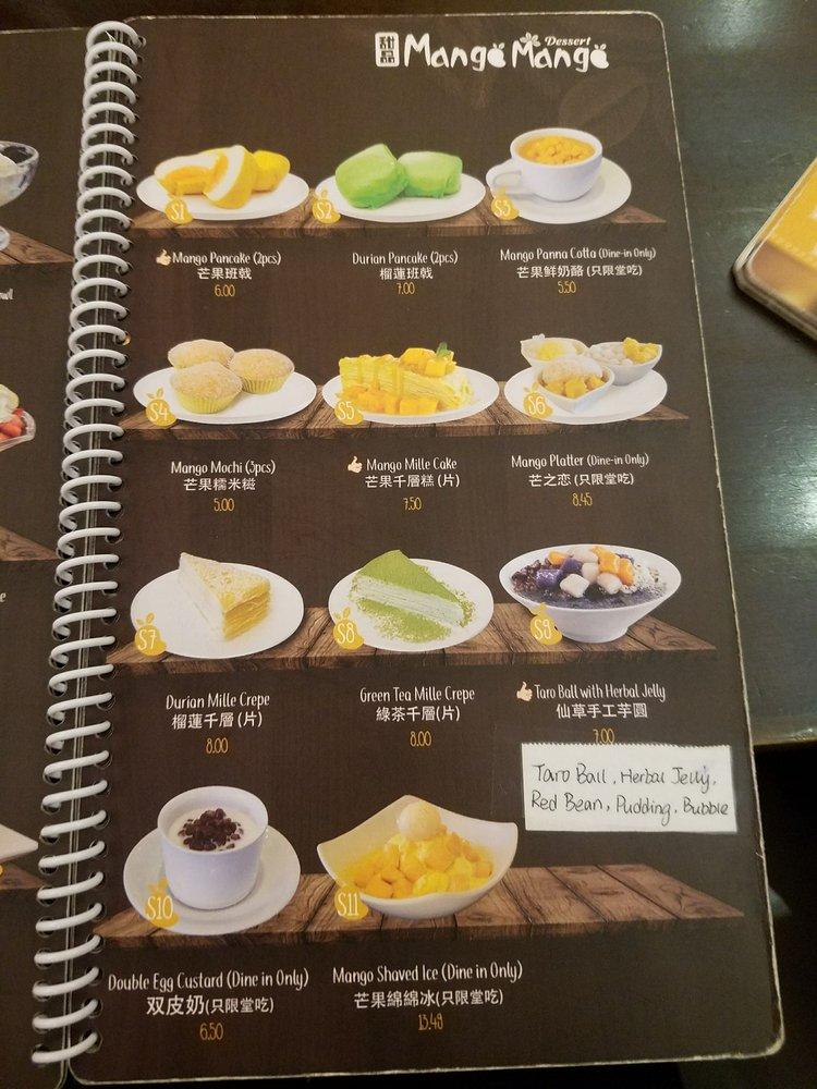 Scampi a manga mango dating