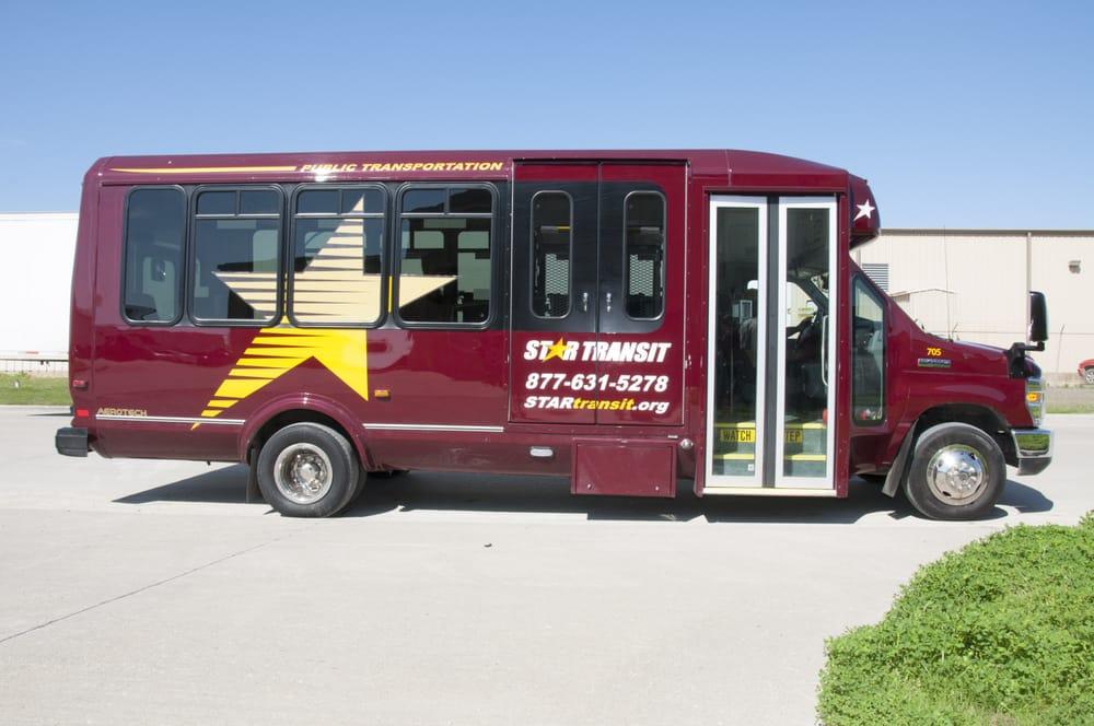 STAR Transit: 500 Industrial Blvd, Terrell, TX