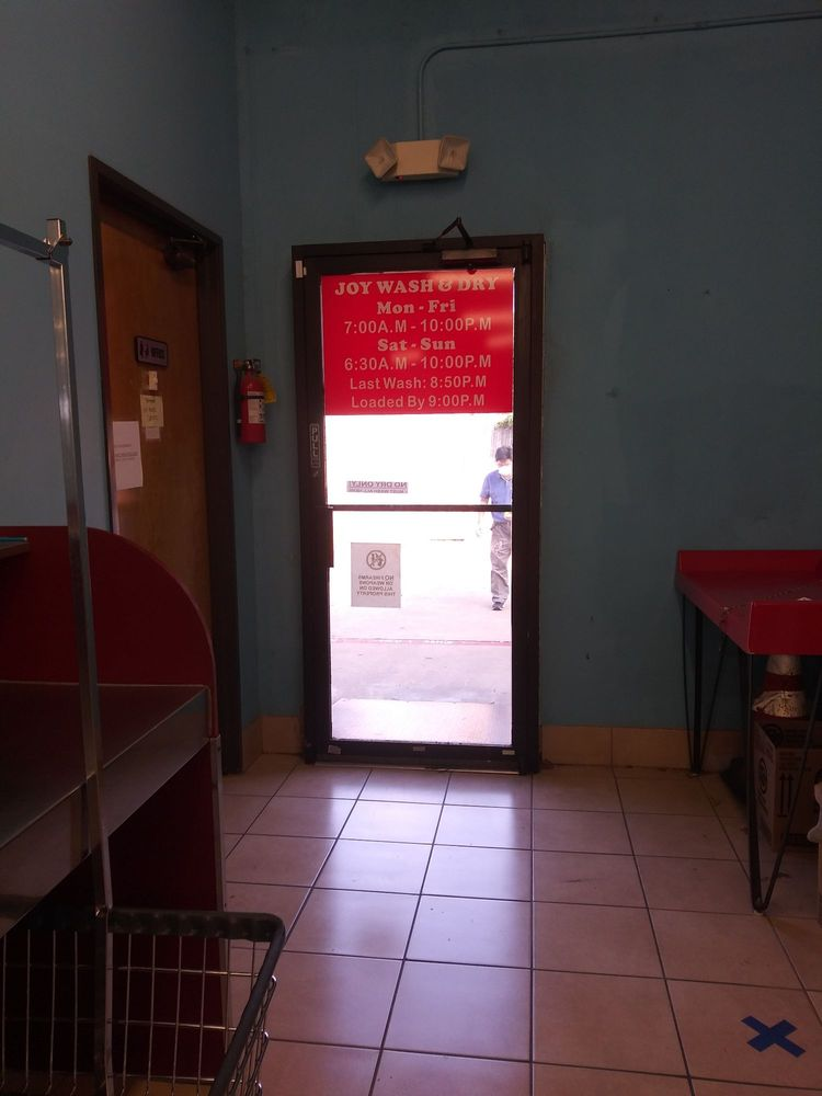 Joy Wash & Dry: 1060 N Main St, Euless, TX