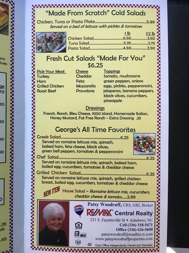 George's Carry Out: 1762 S Fayetteville St, Asheboro, NC