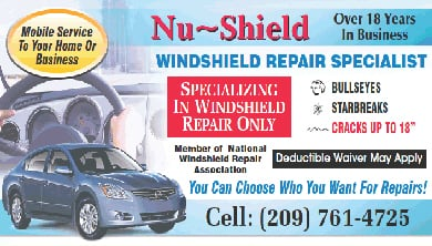 Nu-Shield Windshield Repair: Atwater, CA