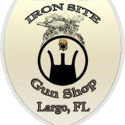 Iron Site Gun Shop logo
