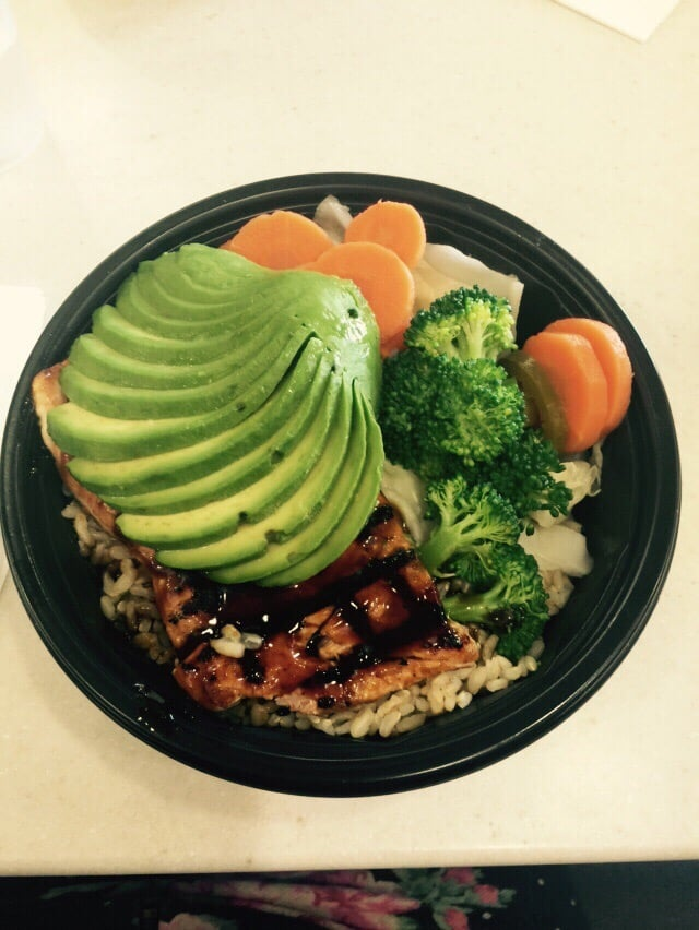 Food from WaBa Grill