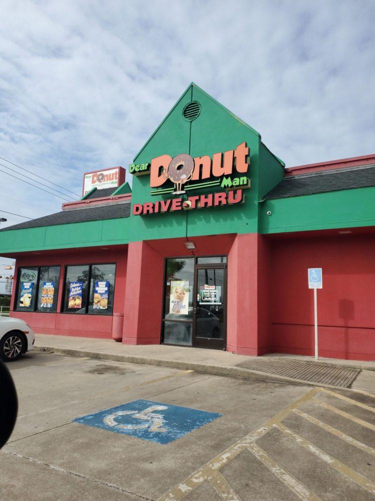 Dear Donut Man: 2507 Clinton Dr, Galena Park, TX