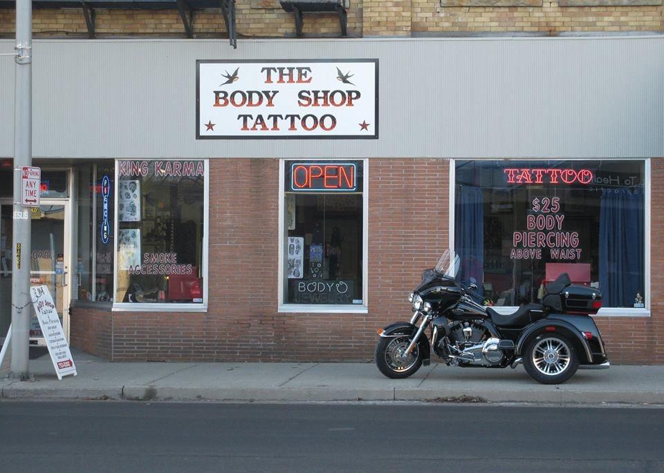 The Body Shop Tattoo & Piercing: 132 Main St, Cortland, NY