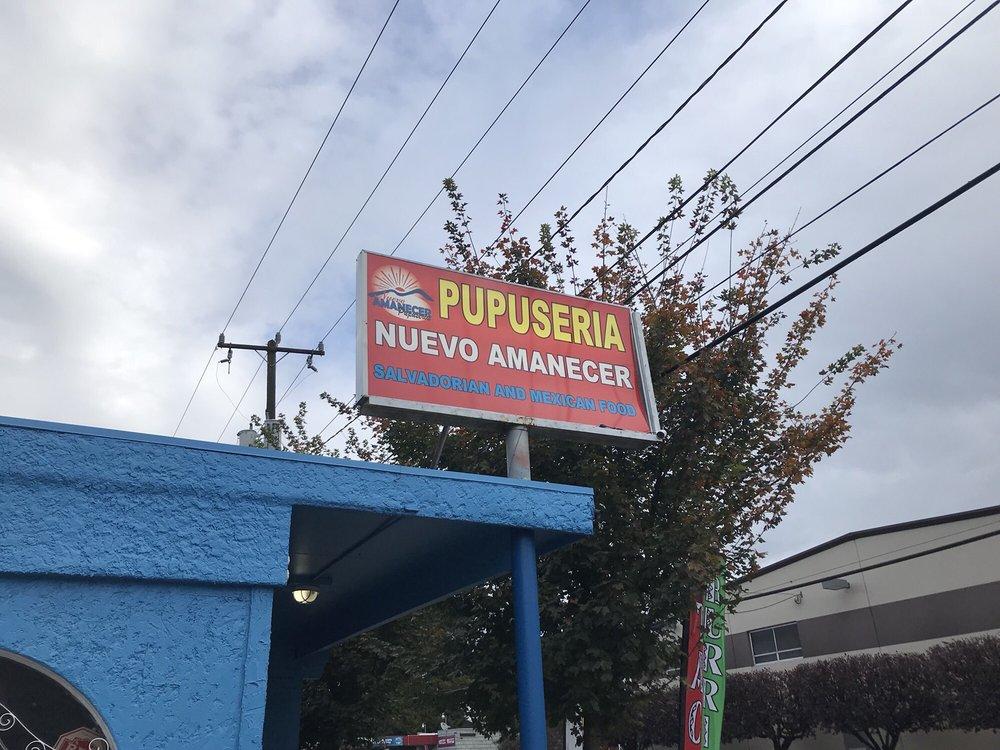 Nuevo Amanecer Pupuseria: 8709 14th Ave S, Seattle, WA