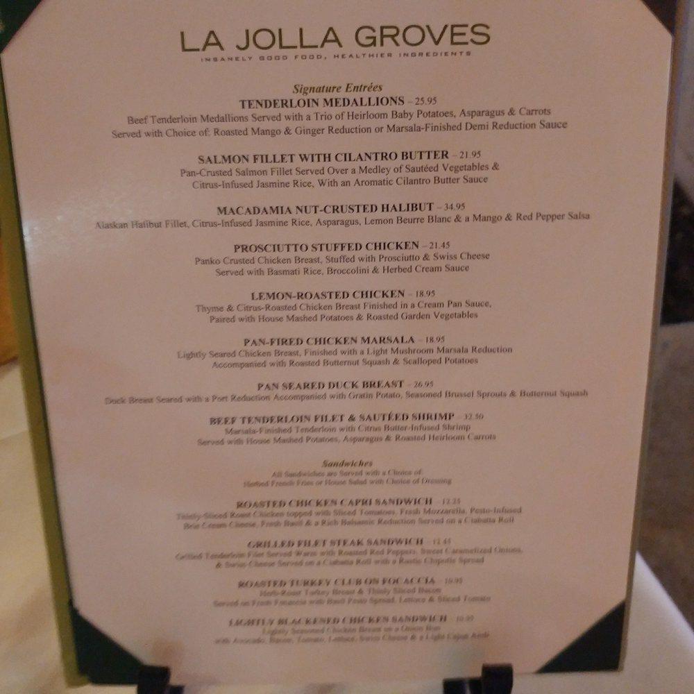Photos for La Jolla Groves | Menu - Yelp