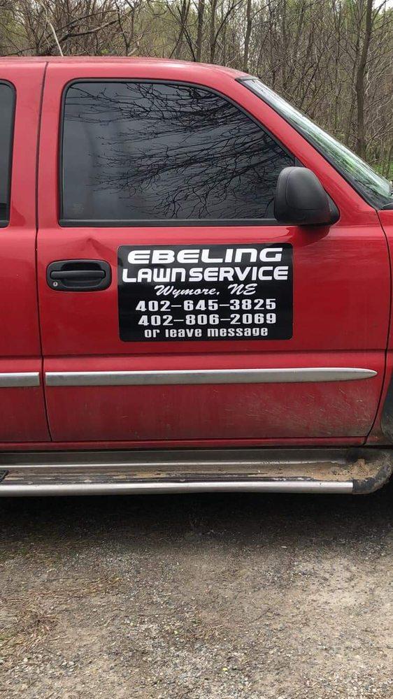 Ebeling's Lawn Service: 402 N 10th St, Wymore, NE