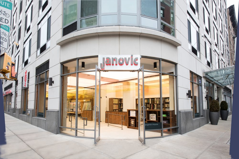 Janovic Paint and Decorating Center - 55 Thompson St, South