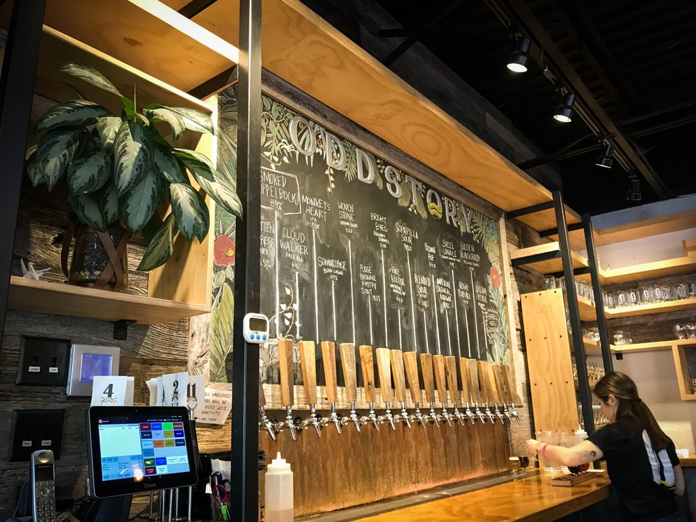 Social Spots from Oddstory Brewing Company