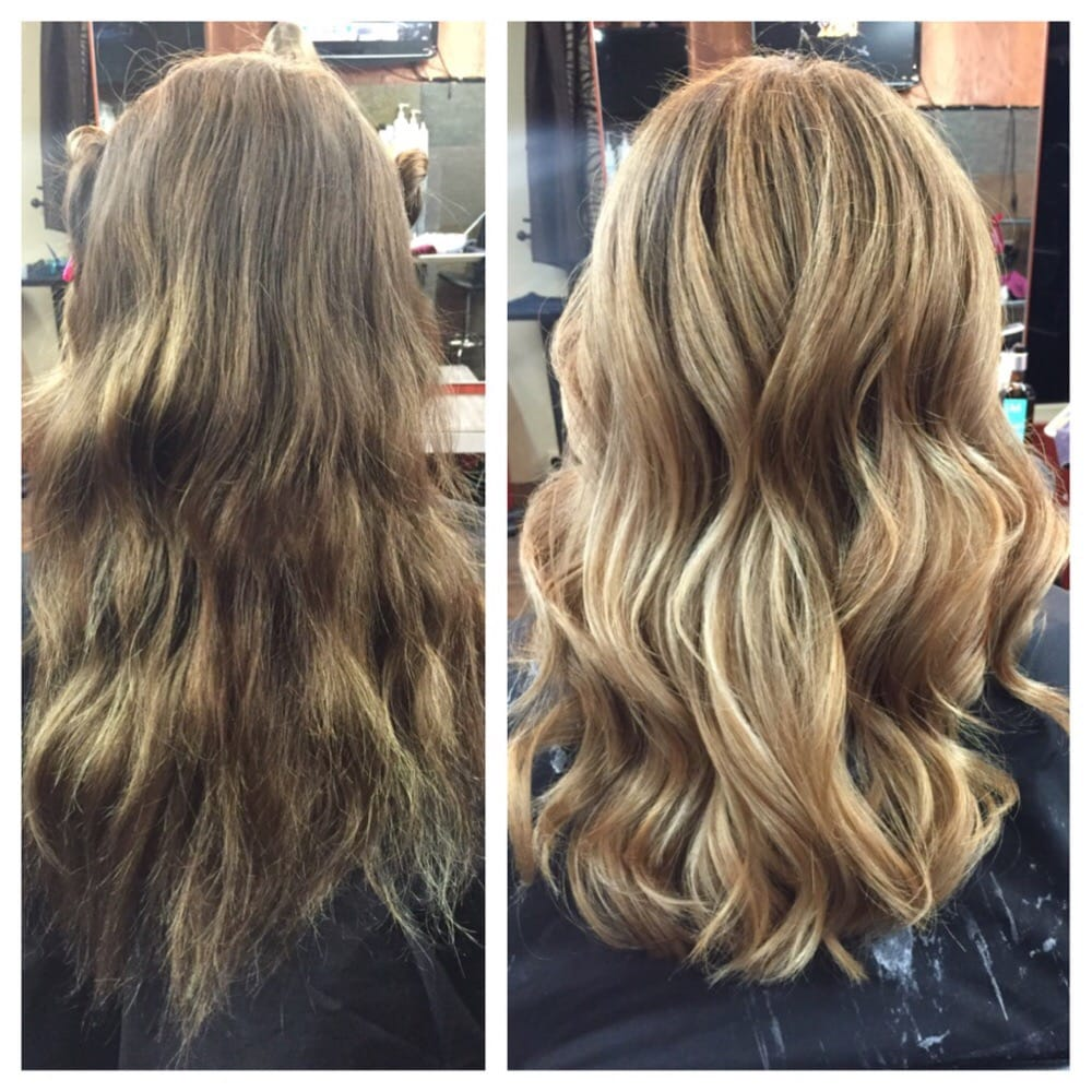 Balayage highlights and cut toned to a perfect honey for 2 blond salon reviews