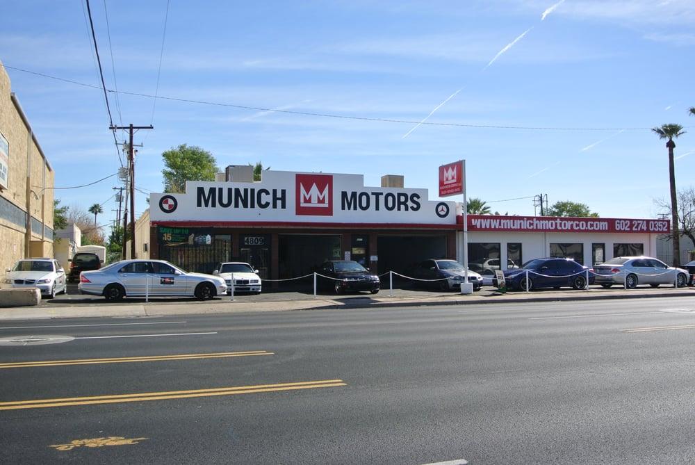 Munich Motors - BMW and Mercedes Specialists