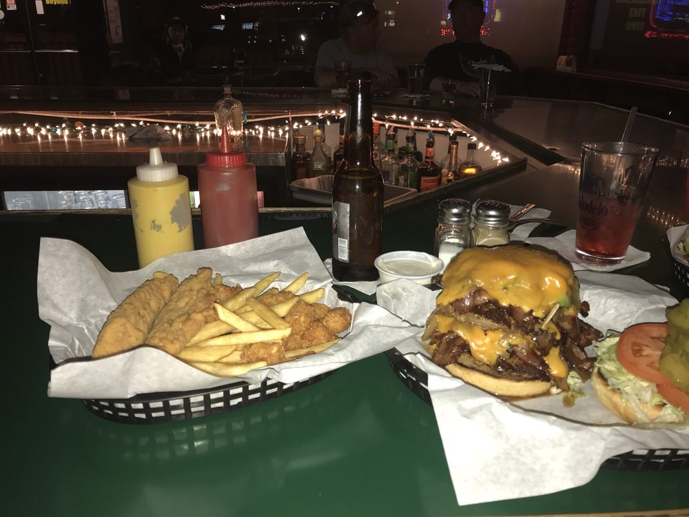 The River Dog Grill: 2046 Hwy 95, Bullhead City, AZ