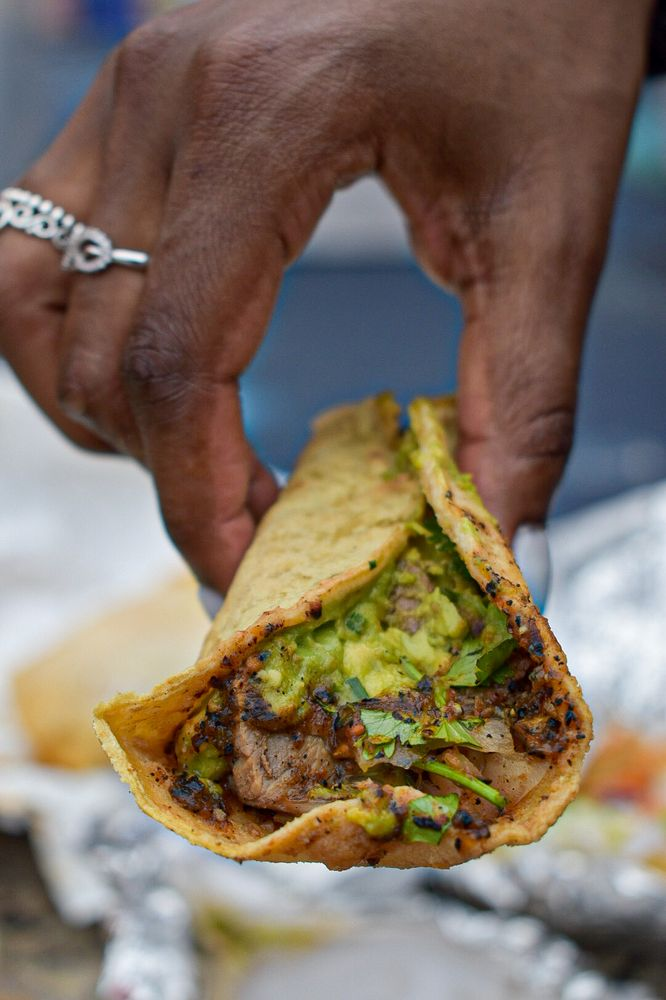 Food from The Taco Stand