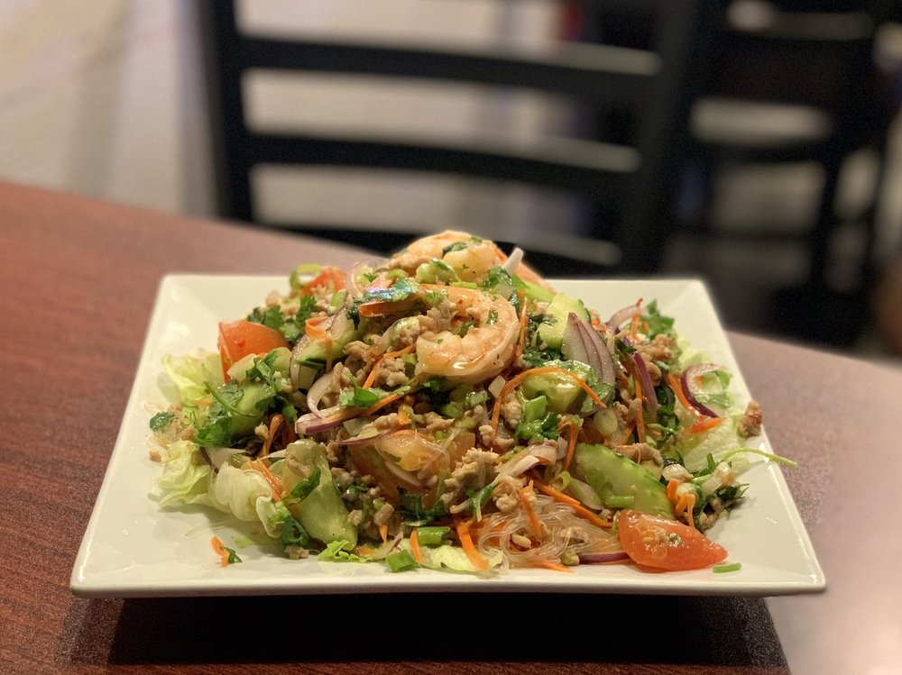 Food from Thai Thip Restaurant