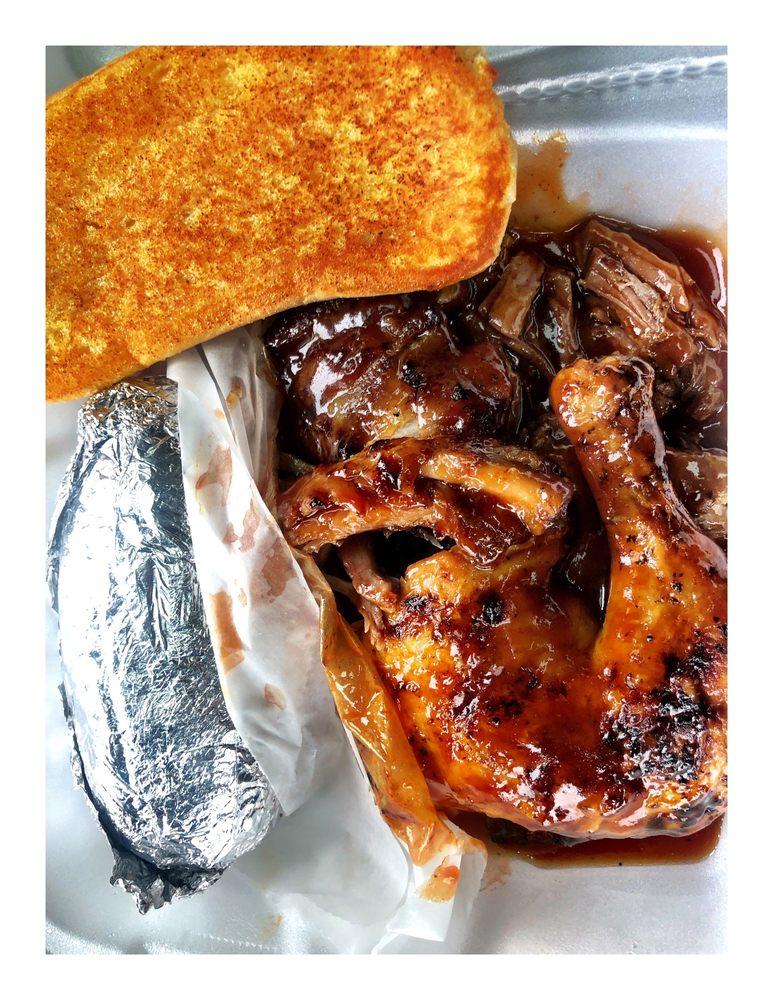 Gemato's Wood Pit BBQ - Worth: 6701 W 111th St, Worth, IL