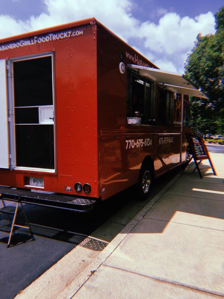 Habeneros Grill Food Truck: 3300 Marjan Dr, Atlanta, GA