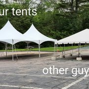 Delicieux Beautifully Lit Tent Photo Of Backyard Tent Rental   Watertown, MA, United  States. A Comparison Between