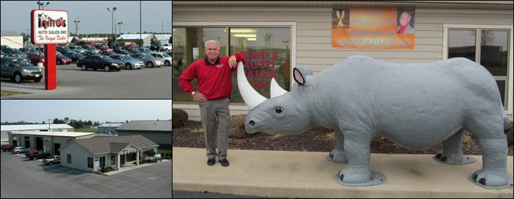 Rino's Auto Sales: 1610 Industrial Dr, Celina, OH