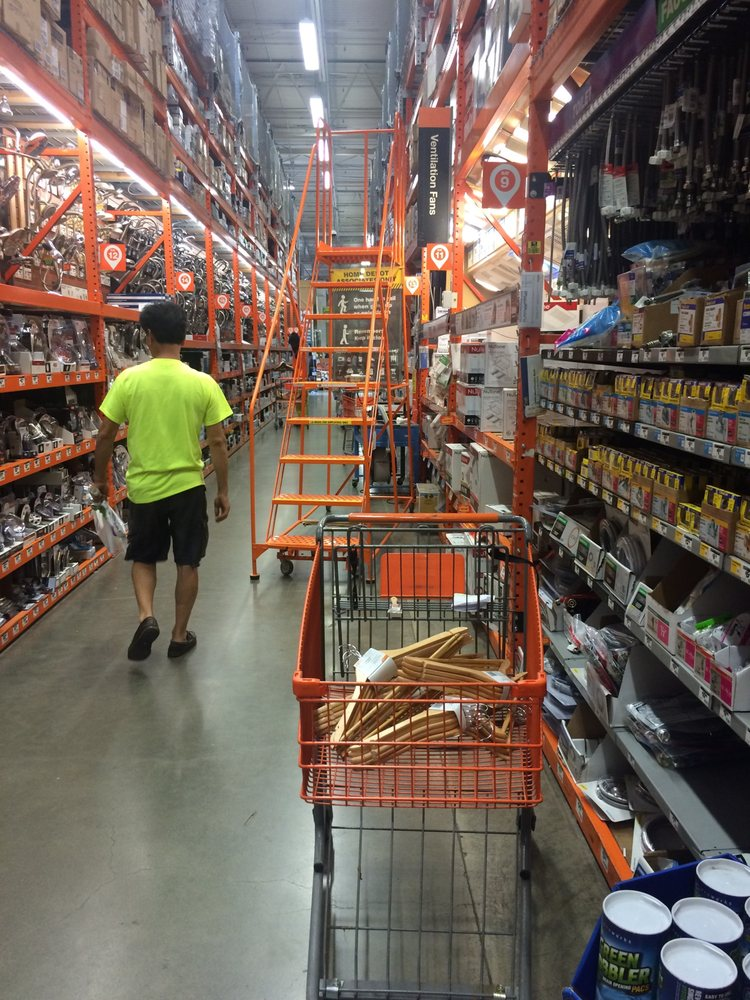 The Usual Obstacle Course At Home Depot Honolulu Yelp