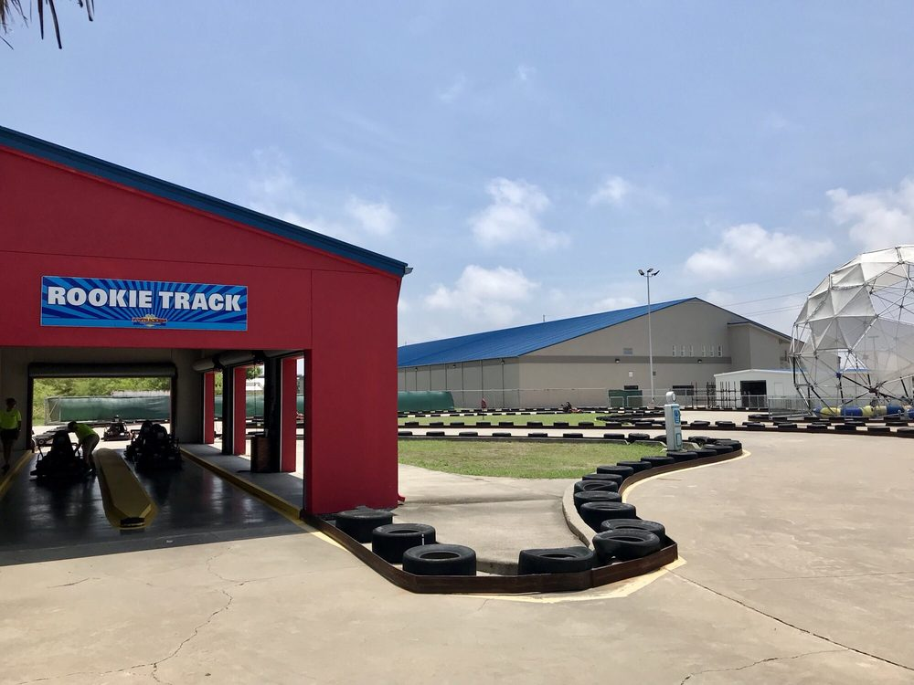 Funtrackers Family Fun Center: 9605 S Padre Island Dr, Corpus Christi, TX