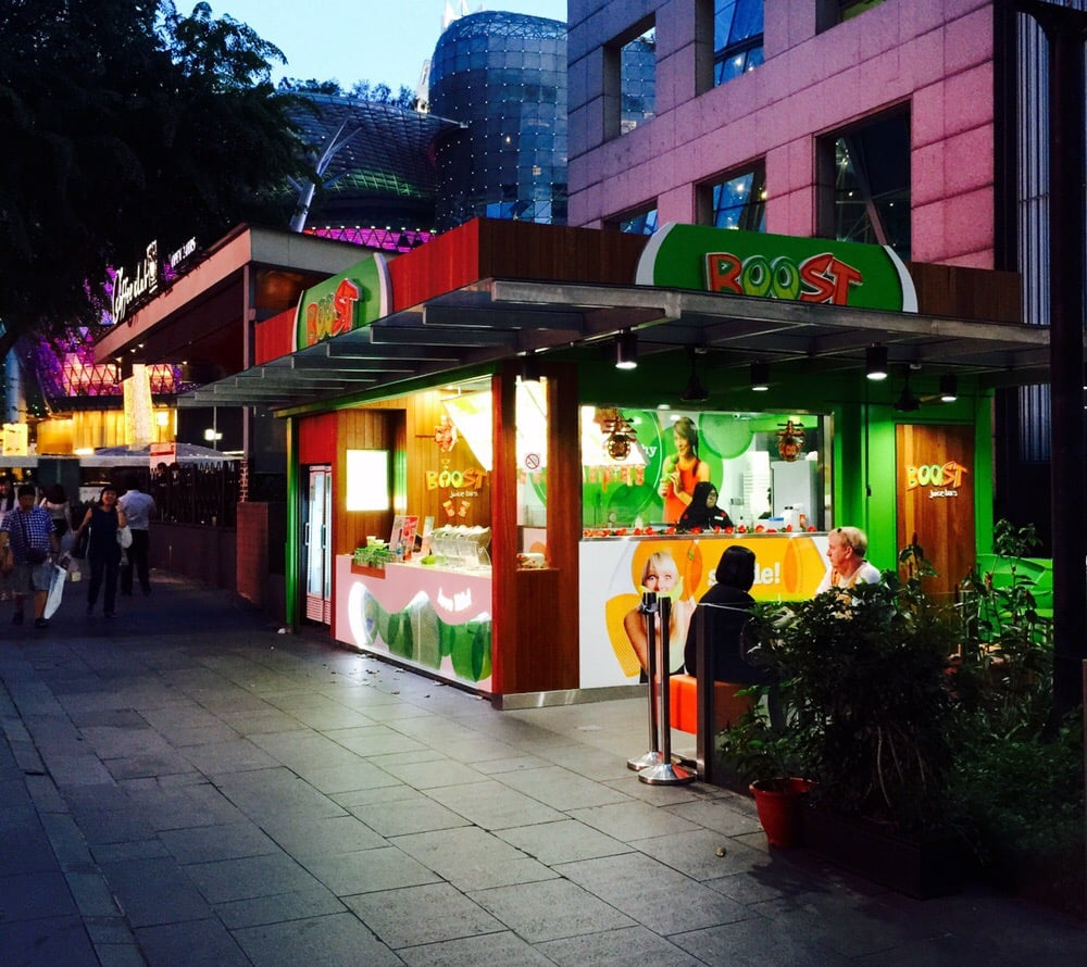 Boost Juice Bar Singapore