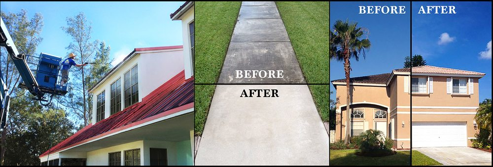 Coral Springs Pressure Cleaning: 3640 NW 118th Ave, Coral Springs, FL