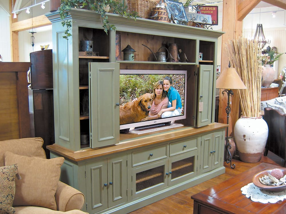Photo Of Country Willow   Bedford Hills, NY, United States. Solid Wood  Entertainment