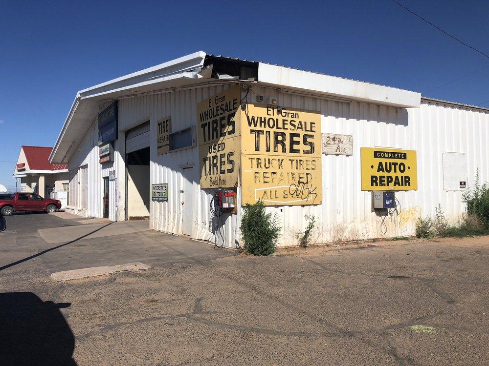 El Gran Tires Service: US-160, Tuba City, AZ