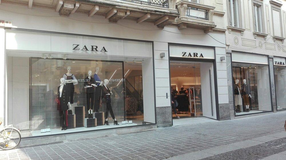 Zara italia abbigliamento via italia 12 monza for Zara uffici milano