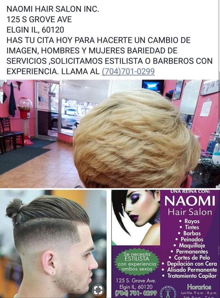 Naomi Hair Salon Hair Salons 125 S Grove Ave Elgin Il Phone