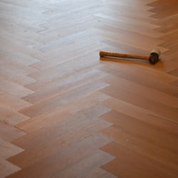 Photo Of Pyle Legacy Floors   Modesto, CA, United States. Herringbone White  Oak