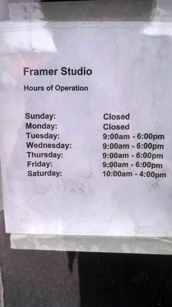 Framer's Studio: 9409 Baltimore Ave, College Park, MD