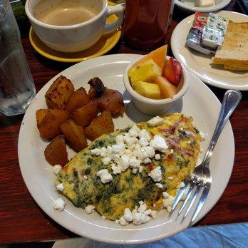 Redondo Beach Cafe Breakfast Menu