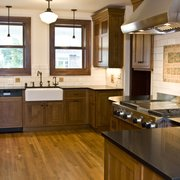 Everything Blends Well Photo Of Johnson Stone Countertop Lakewood Wa United States Absolute Black Polished