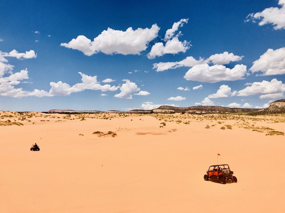 Coral Pink ATV Tours: 12500 Sand Dune Rd, Kanab, UT