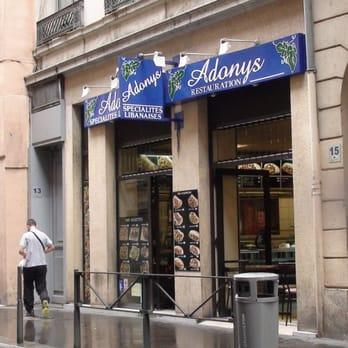 Adonis Restaurant Libanais Lyon