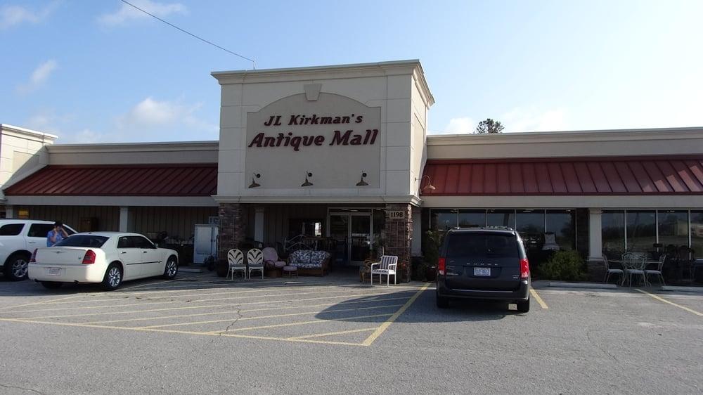 J L Kirkman Antique Mall: 1198 US Hwy 17 N, New Bern, NC